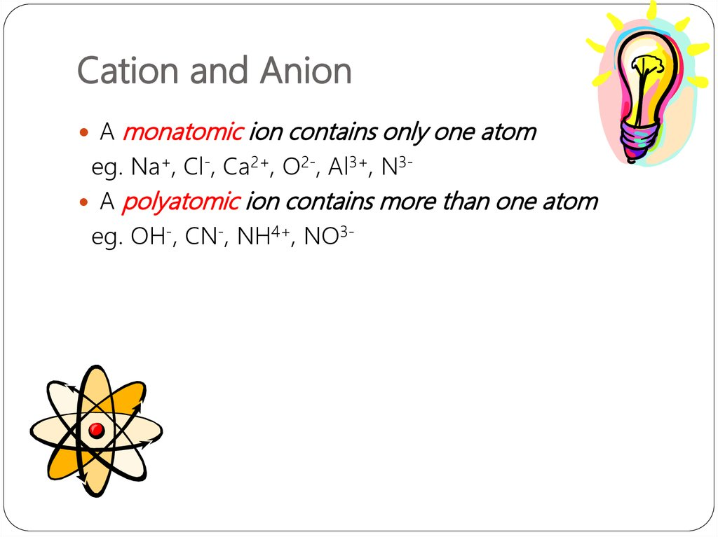 cations and anion lab View lab report - ilab week 2 cations and anion lab from chemisrty 120 at chamberlain college of nursing 1 xaviera stokes ilab, week #2 cations and anion lab introduction there are various kinds of.