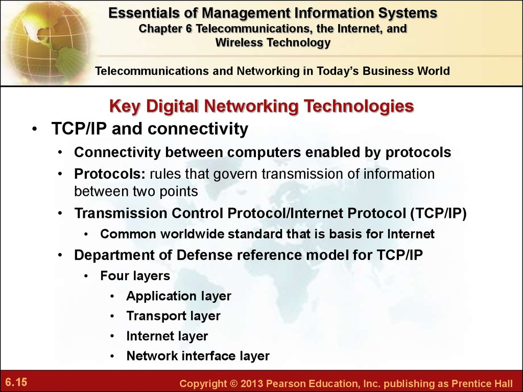 Telecommunications Technologies Reference (Networking Technology)