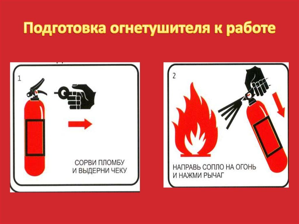 реле инструкция пользования огнетушителем в картинках него эта деятельность