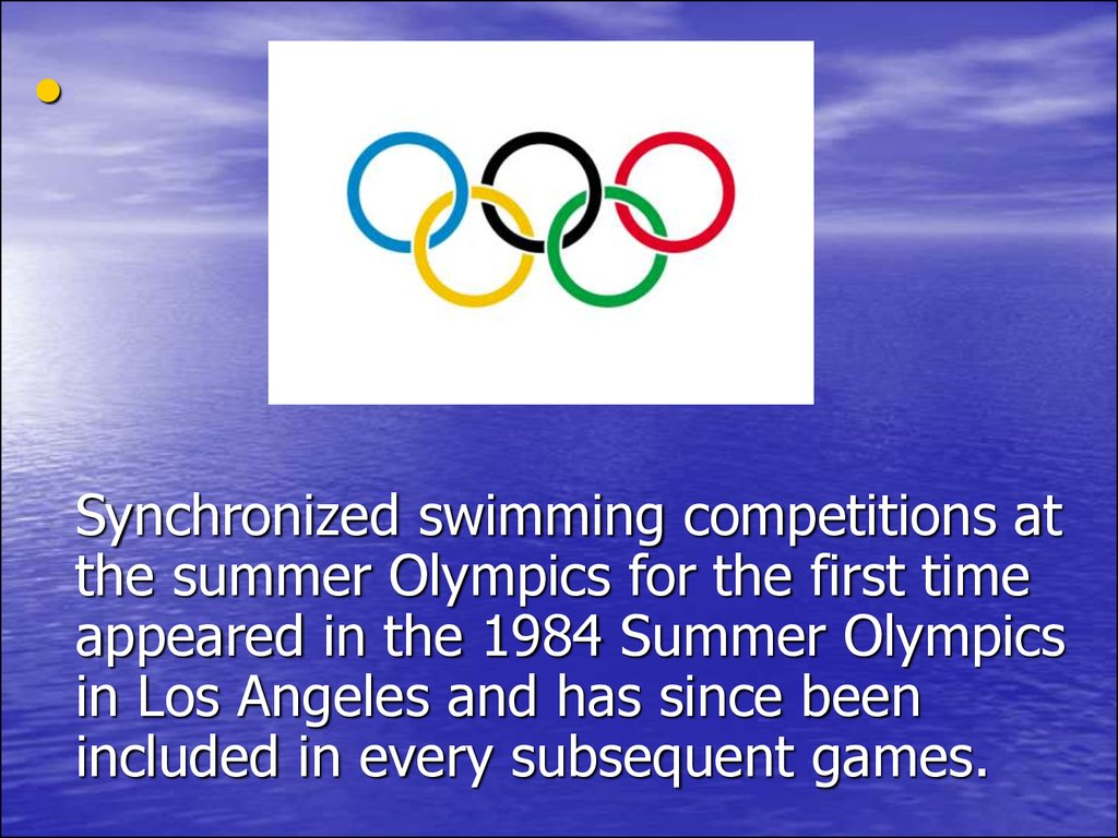 an introduction to analysis of swimming competition in the olympic games There have been some unusual swimming events at the early olympic games, including the plunge for distance, underwater swimming race and the swimming obstacle race women competed in swimming events for the first time at the olympic in 1912, but none of them were from usa, as that country did not allow its female athletes to compete in events without long skirts.
