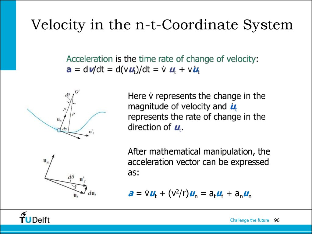 Velocity in the n-t-Coordinate System