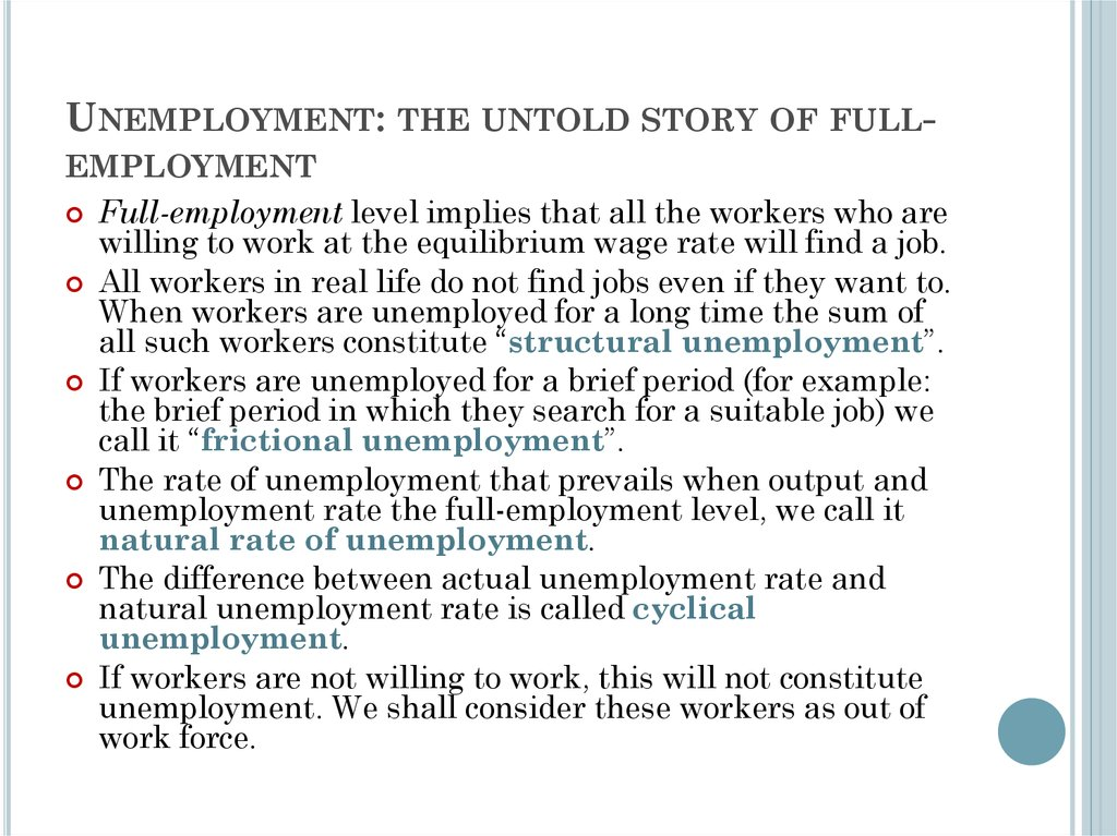 structural unemployment essay The definition of structural unemployment is the unemployment that results from structural changes in the economy which results in a long run mismatch of jobs being offered and skills of the labor force.