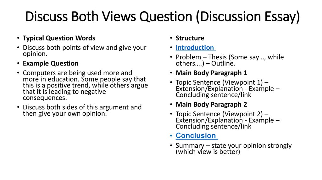 How to write discussion for dissertation