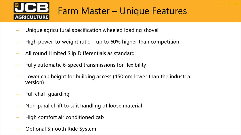 "Why Farm Master – ""S"" Series"