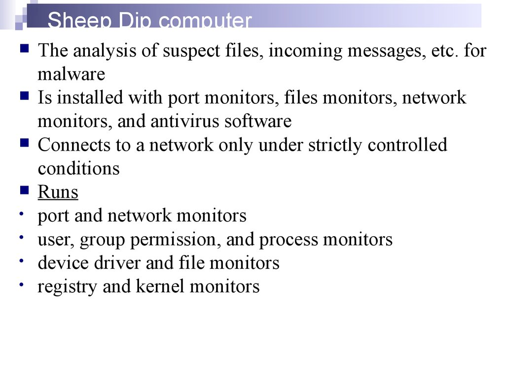 Sheep Dip computer