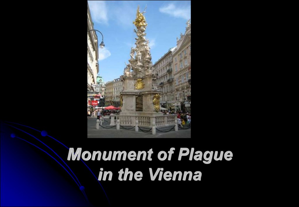 Monument of Plague in the Vienna