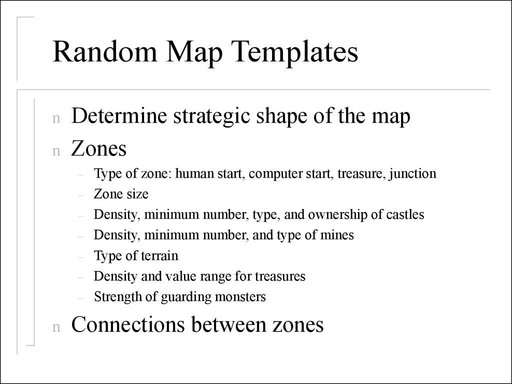 The heroes 3  Random map  Generator - online presentation