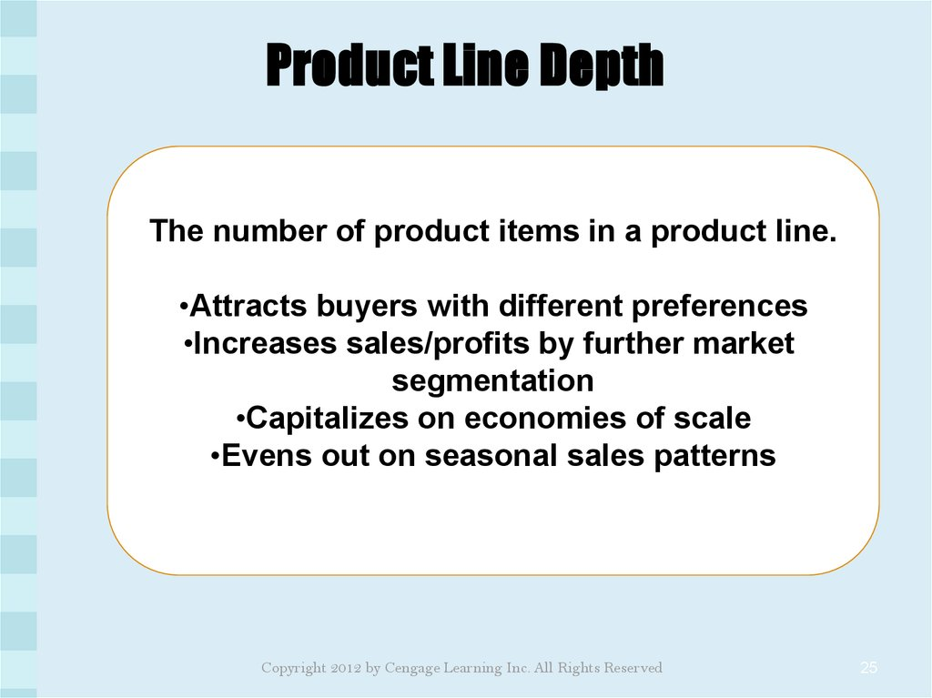 Product Line Depth