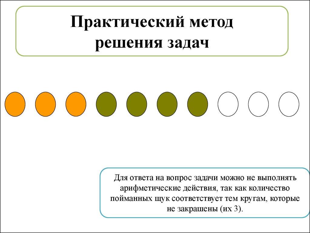 Задача про щук решение решение задачи журавлики