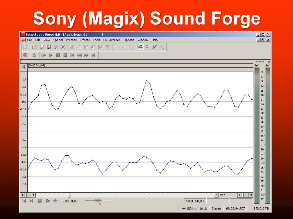 Sony (Magix) Sound Forge