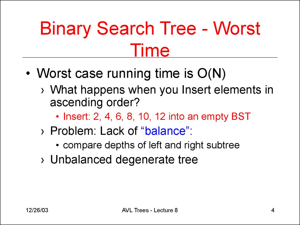 Binary search tree - Wikipedia
