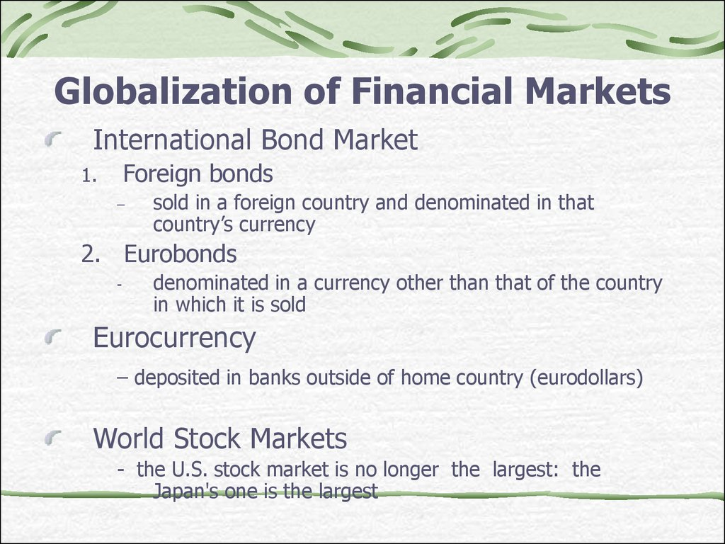 contemporaty financial intermediaries ch1 Chapter 8 an economic analysis of financial structure  1) american businesses get their external funds primarily from  a) bank loans  financial intermediaries.