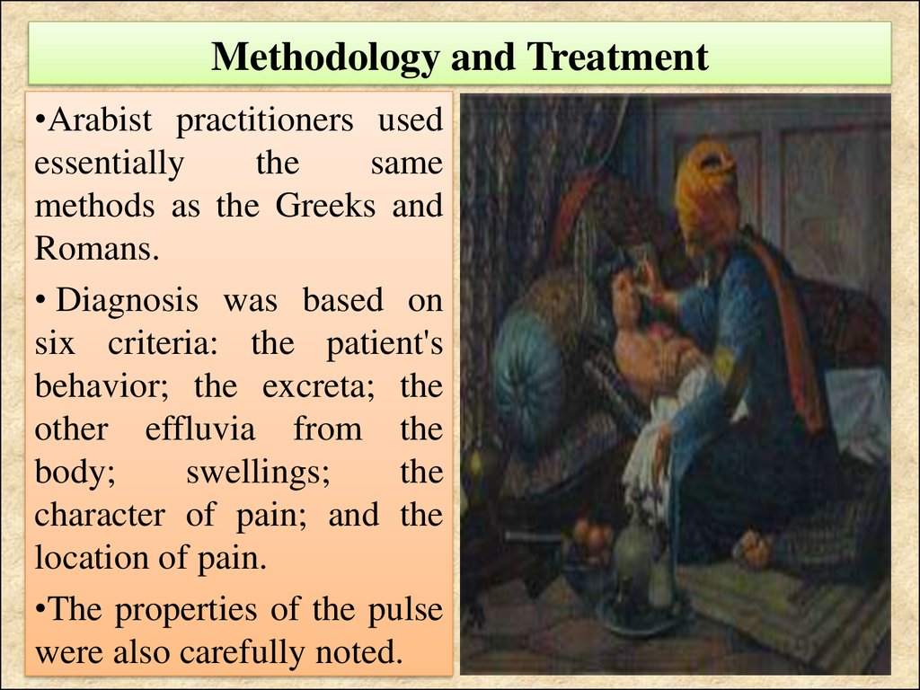 Methodology and Treatment