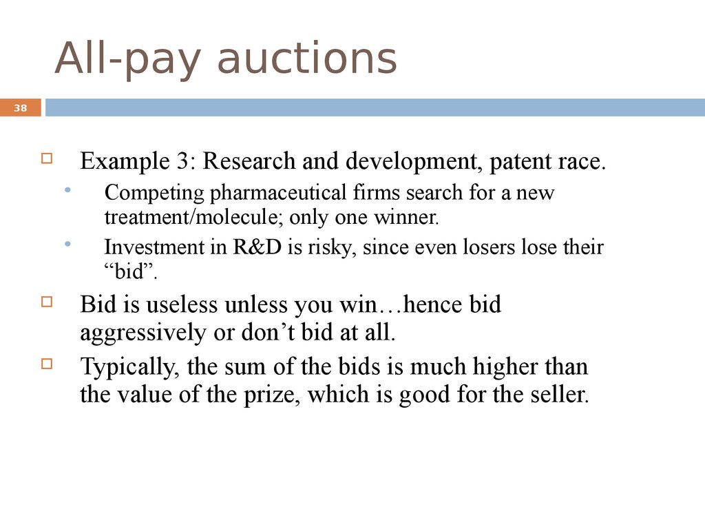 All-pay auctions