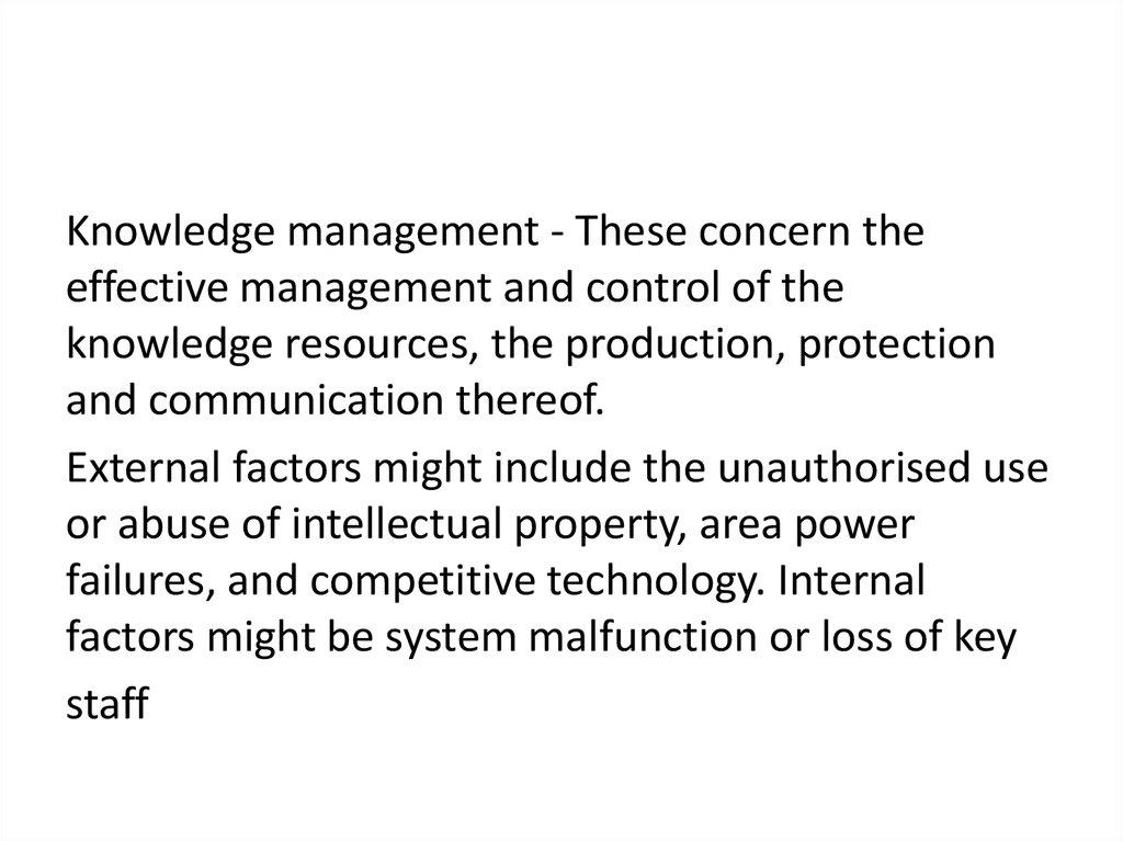 Risk management approaches - online presentation