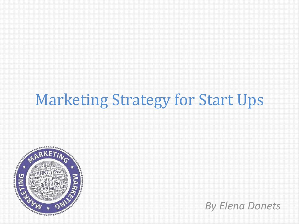 ups marketing plan When you're marketing a fledgling startup, you've got to start your journey from  the very beginning here are four ways to get your marketing plan off the ground.
