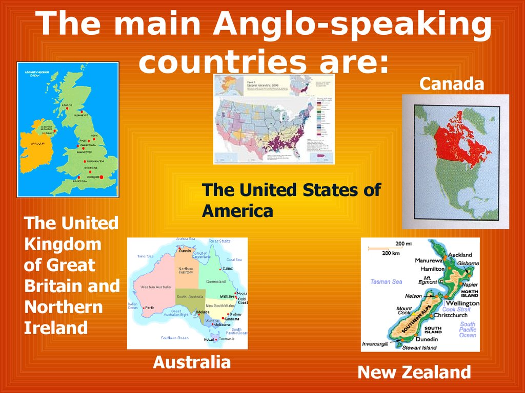 what do symbols tell us the main anglo speaking countries are canada the united kingdom of great britain and northern ireland the united states of america australia new zealand biocorpaavc Choice Image