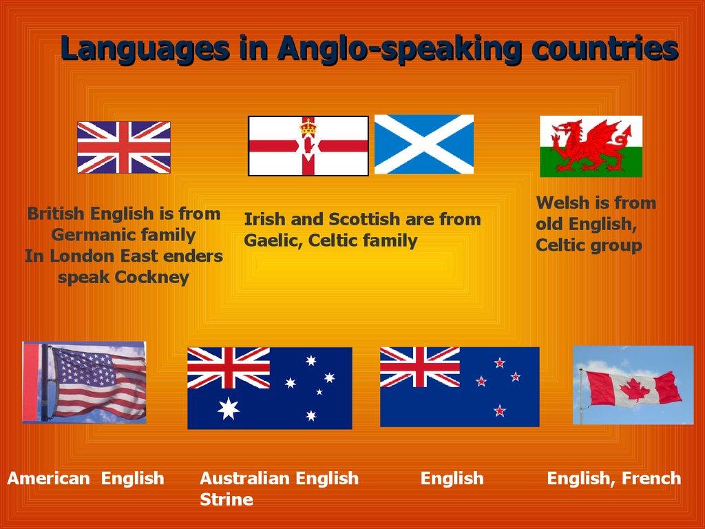 рисунок флаги англоязычных стран фото мне сайт