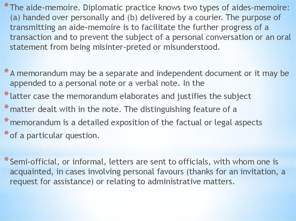 Diplomatic communication between states - презентация онлайн