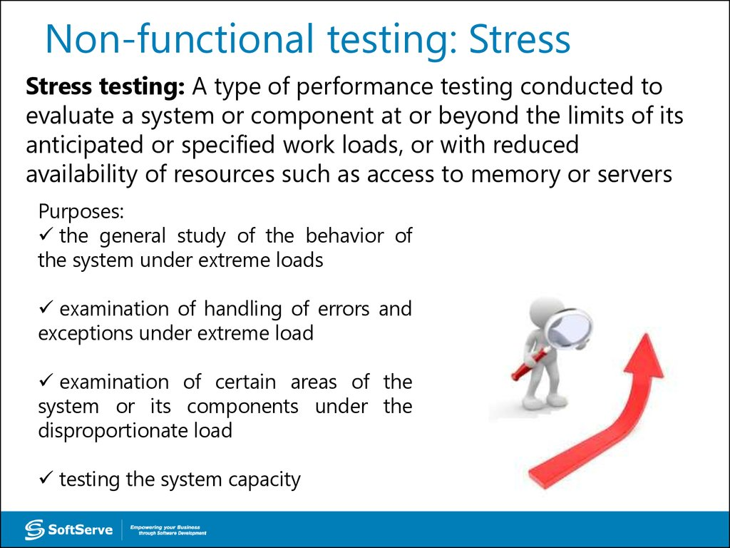 Non-functional testing: Stress