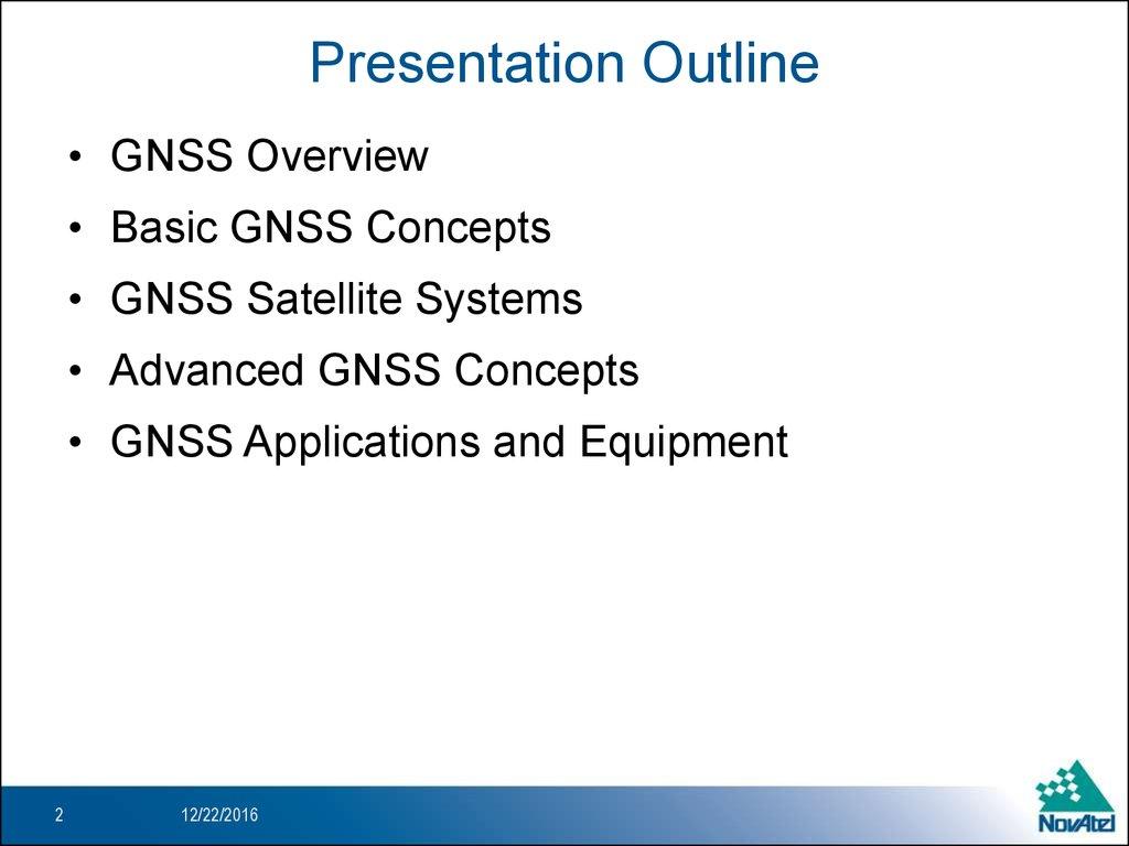 An Introduction to GNSS_rev2_SD - презентация онлайн