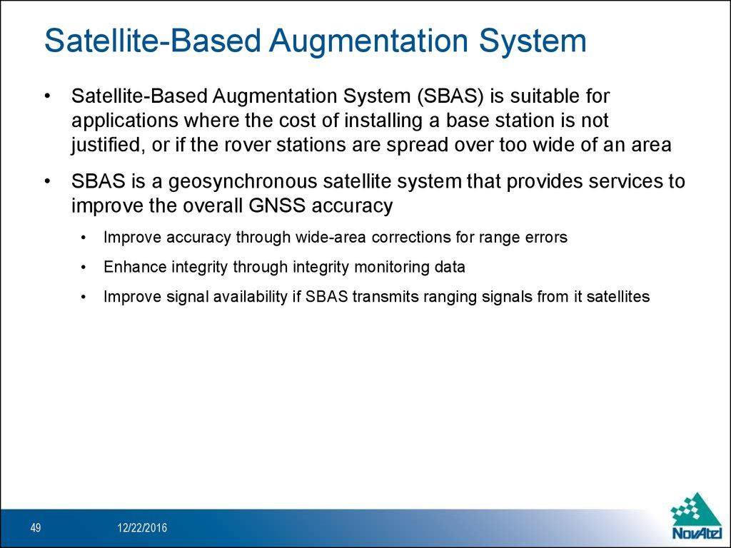 an introduction to wide area augmentation system waas