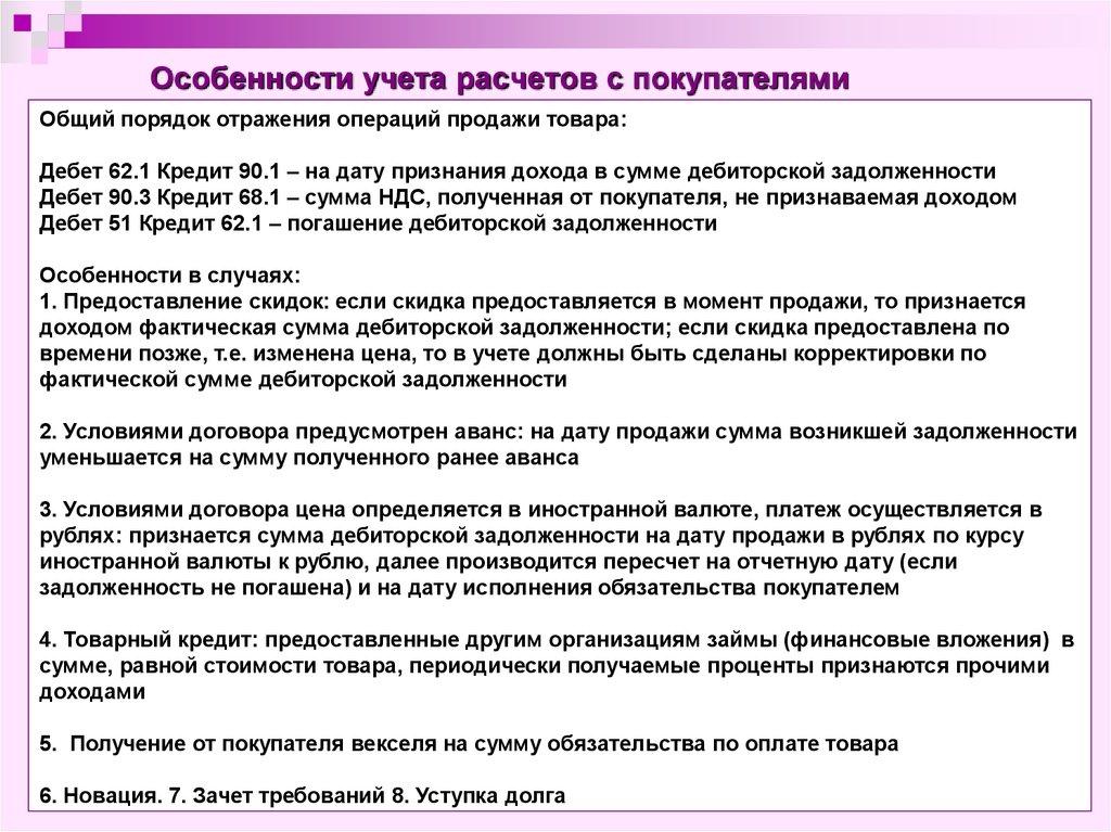 Учет Расчетных Операций Шпаргалка