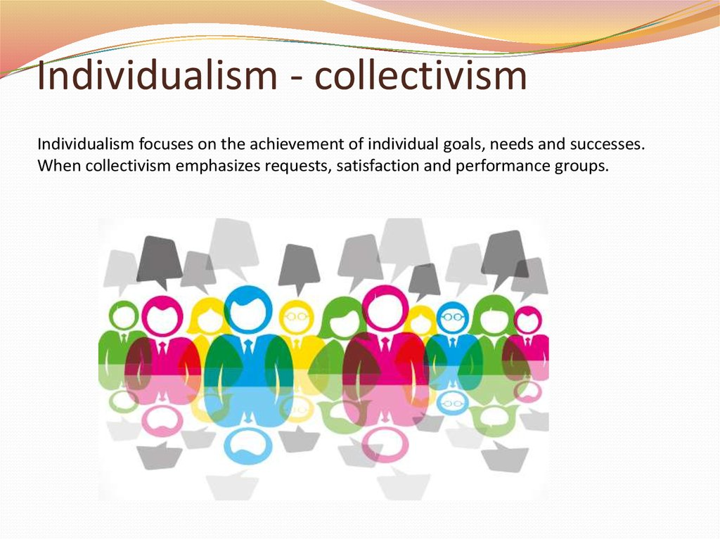 the collectivisms versus individualism appeals cultural studies essay To what extent should canada adopt individualism, collectivism, or a combination of the two to ensure the common good the common good of canadians is very important, and each individual should do all they can to improve the common good of the community.
