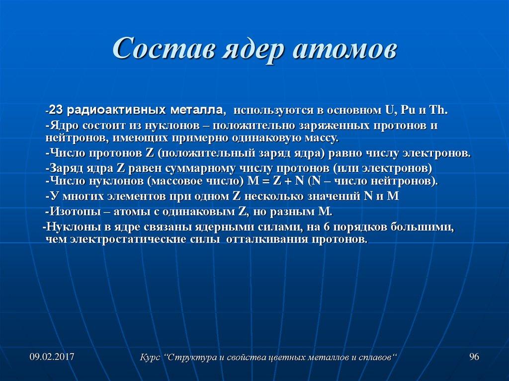 состав атома ядра атома костюмы Осенний