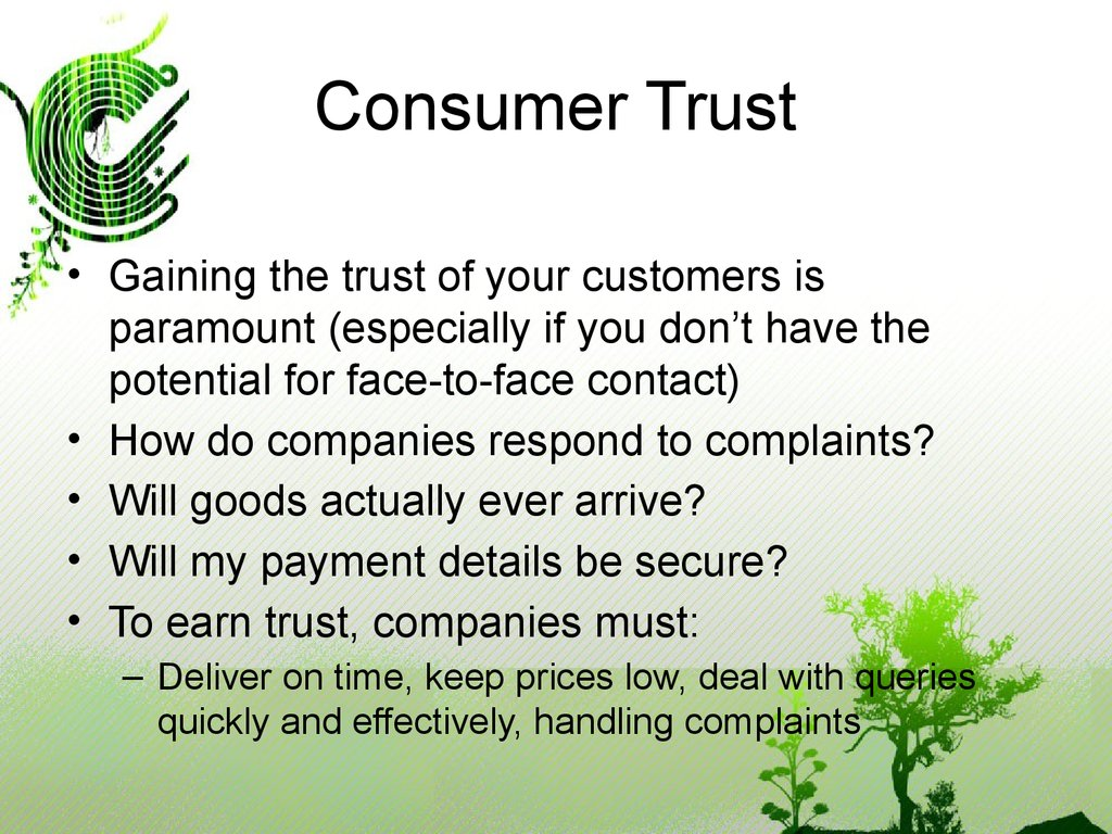 consumer trust Recommendations on how companies can help consumers trust their brands amid recent product recalls.