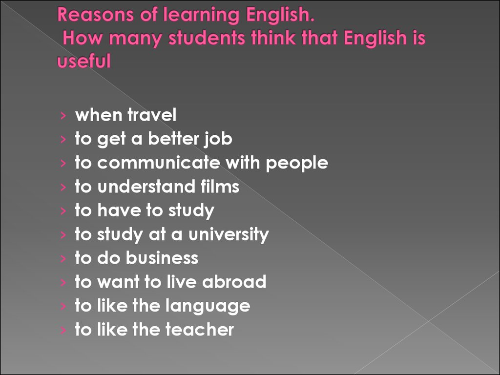 importance of learning english Learning is important because it boosts confidence, is enjoyable and provides happiness, leads to a better quality of life and helps boost personal development learning is about more than economic success, but is also about the way that it can influence a person's life in positive ways such as.