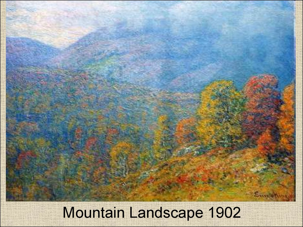 Mountain Landscape 1902