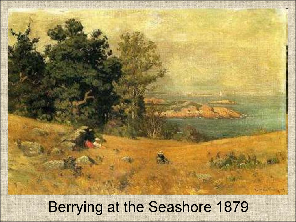 Berrying at the Seashore 1879