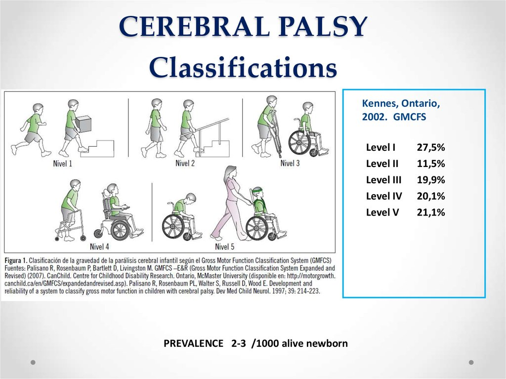 CEREBRAL PALSY Classifications