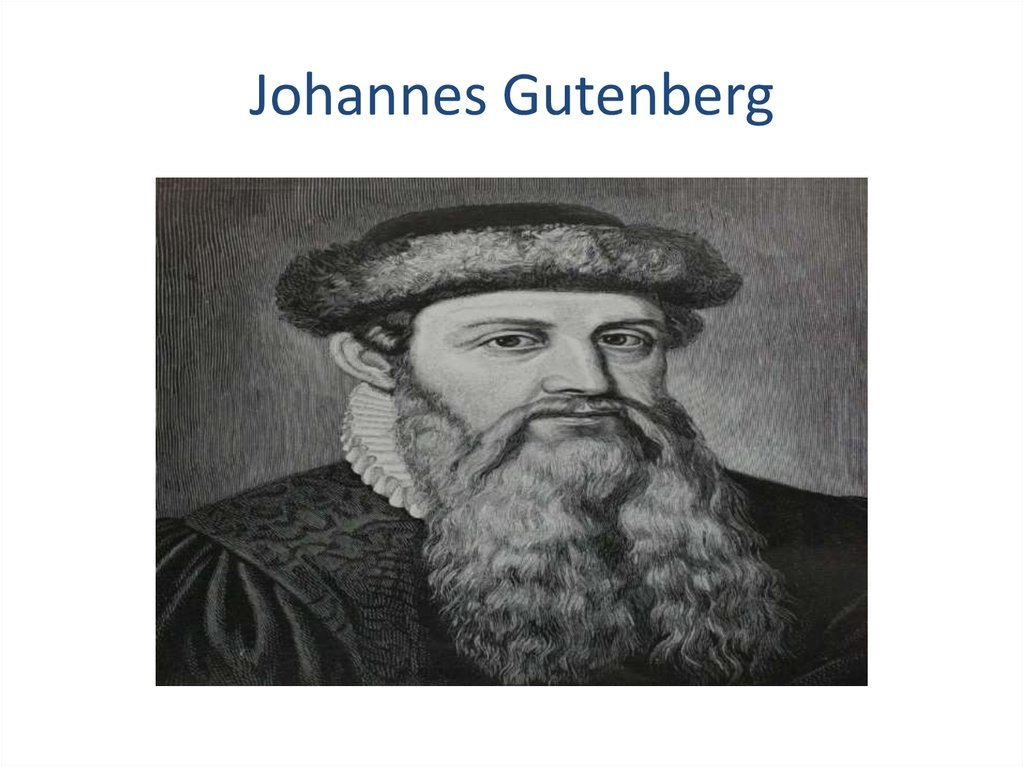 johann gutenberg and the impact of the Gutenberg bible: gutenberg bible, the first complete book extant in the west and the earliest printed from movable type, so called after its printer, johannes gutenberg, who completed it about 1455 working at mainz, ger the three-volume work, in latin text.
