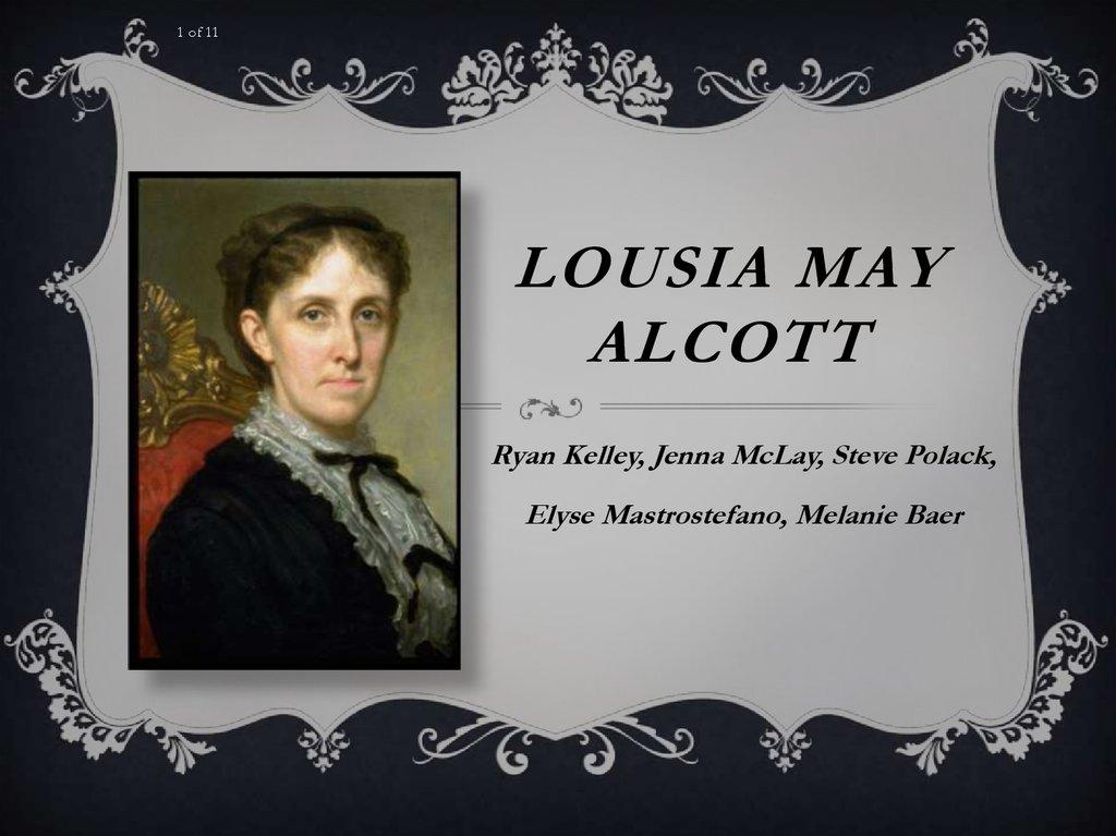 super popolare a4e39 c4905 Lousia May Alcott - online presentation