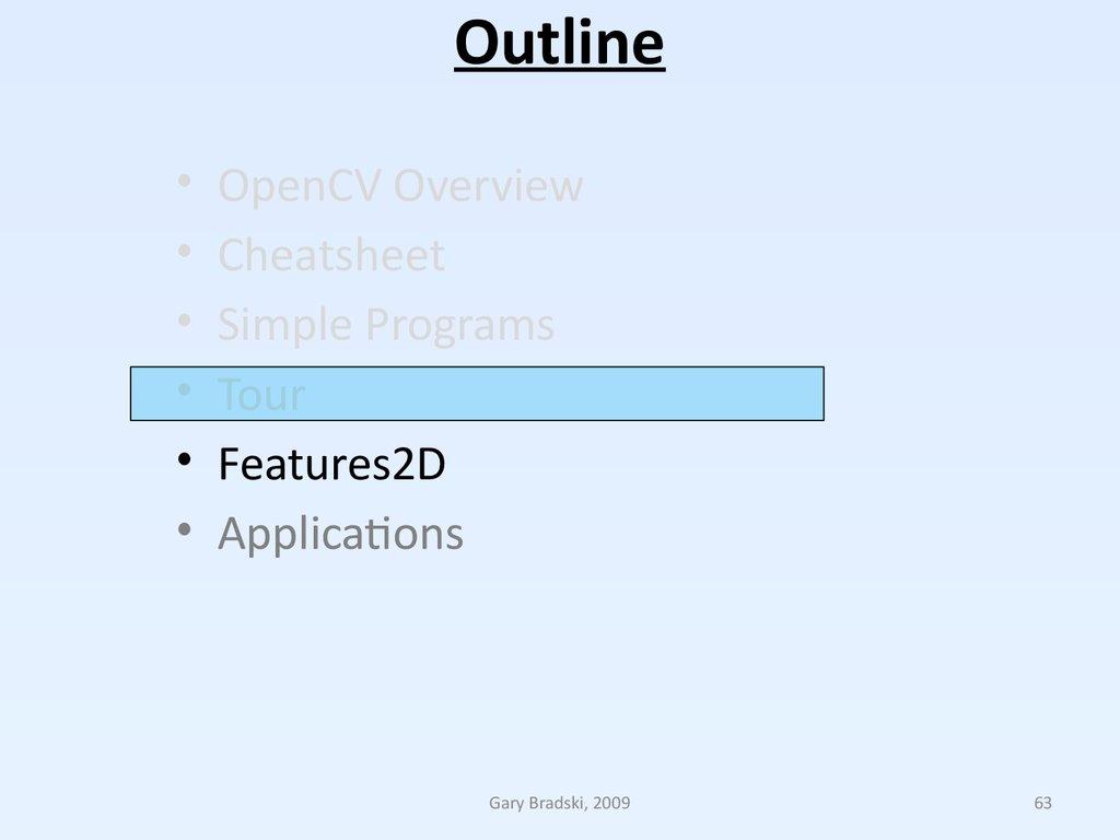 Opencv tutorial  (Lecture 2) - презентация онлайн