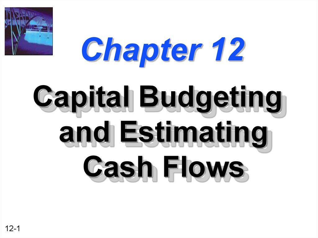 capital budgeting method and cash flows Using a cash flow statement to reconcile net income with change in cash  it's a  positive in terms of assets and equity, however, because it imposes an.