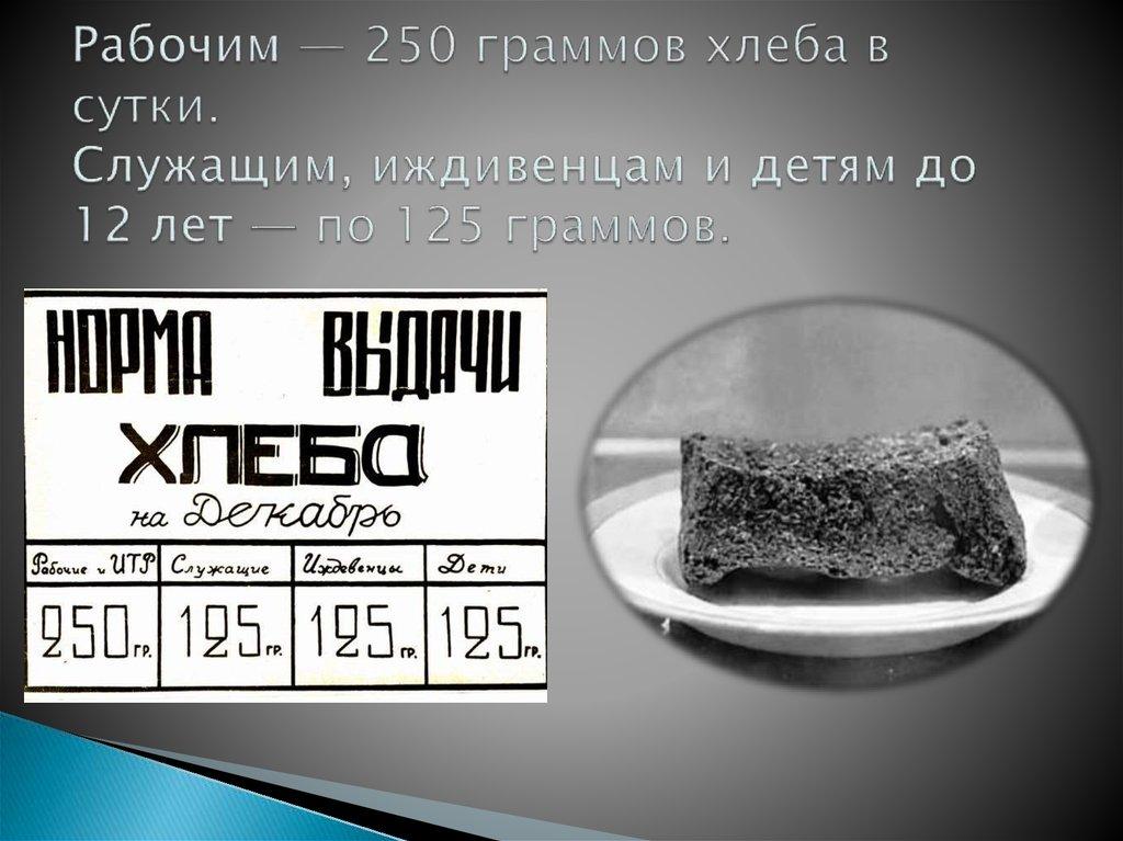 Ржаной хлеб с маслом калорийность