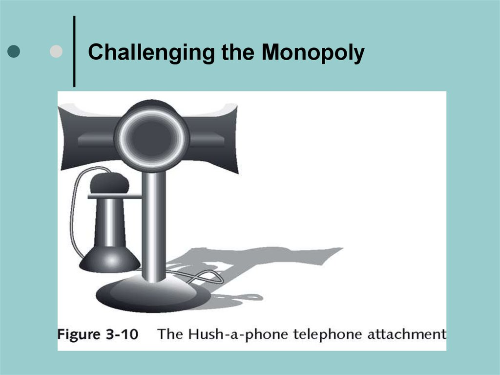 Challenging the Monopoly