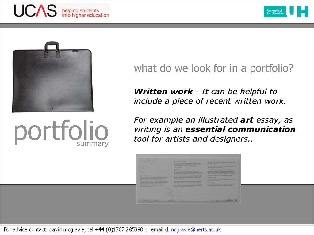 the art and design portfolio презентация онлайн 29