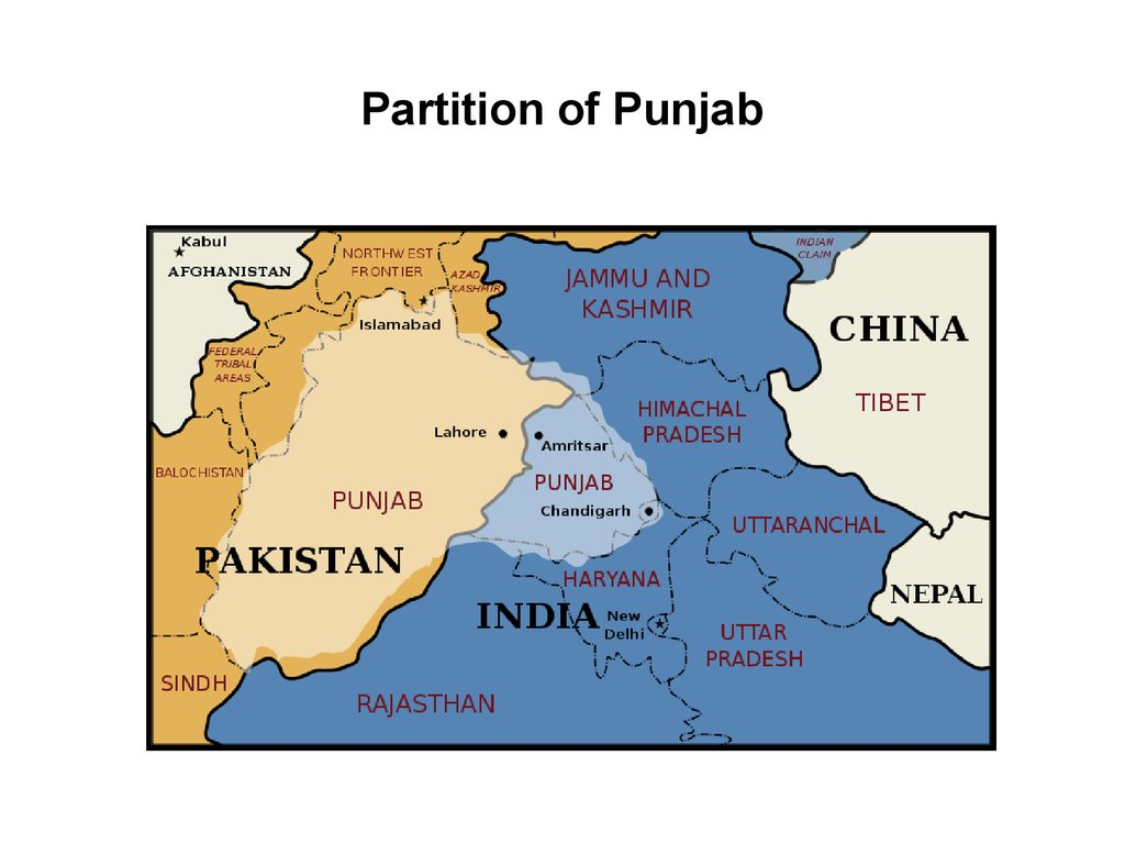 Partition of Punjab