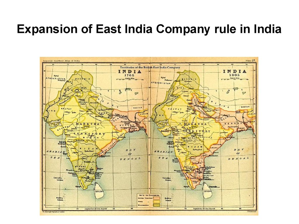Expansion of East India Company rule in India