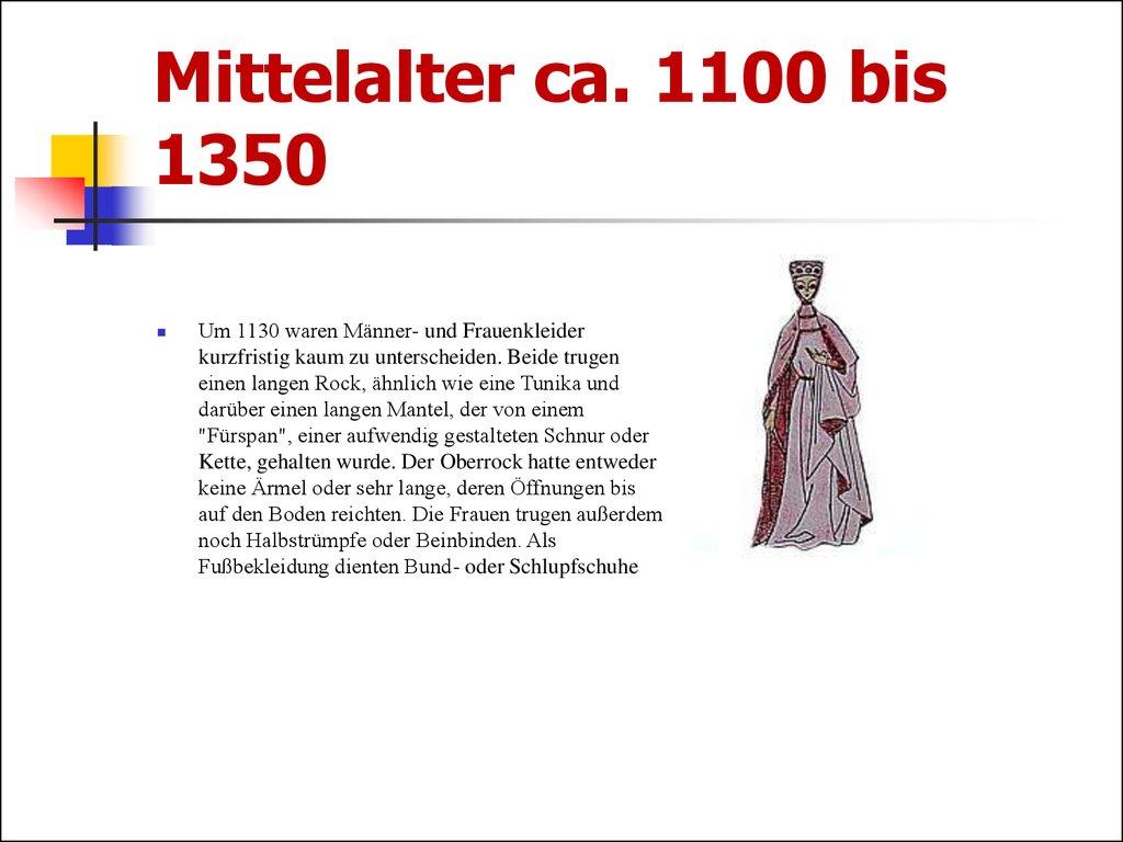 Chr. Bis 800 Mittelalter Ca.
