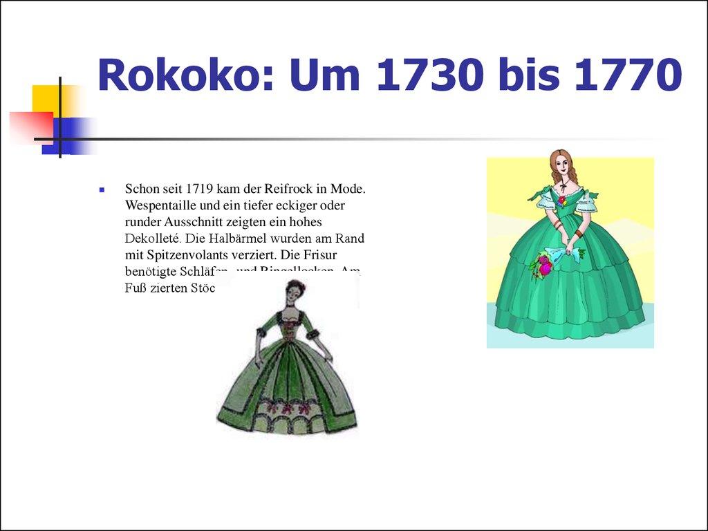 ... Italien Rokoko: Um 1730 Bis 1770 ...
