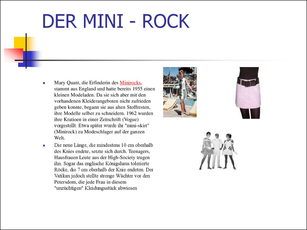 DER MINI - ROCK