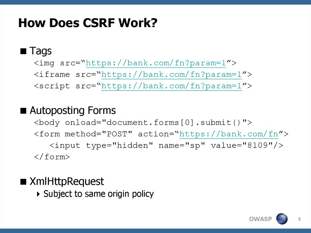 How Does CSRF Work?
