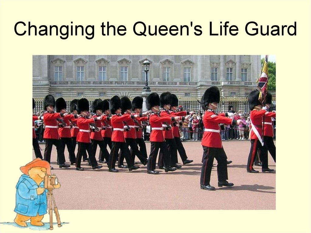 Changing the Queen's Life Guard