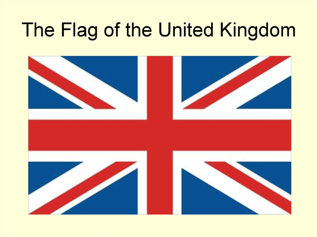 The Flag of the United Kingdom