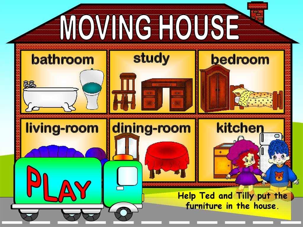 House Furniture Matching Game Online Presentation